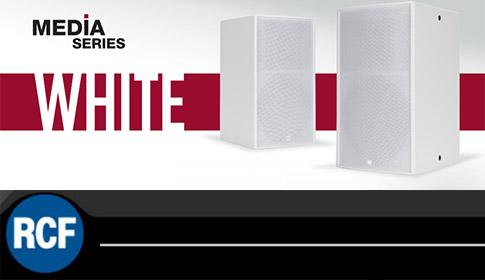 RCF Media Series white blanco