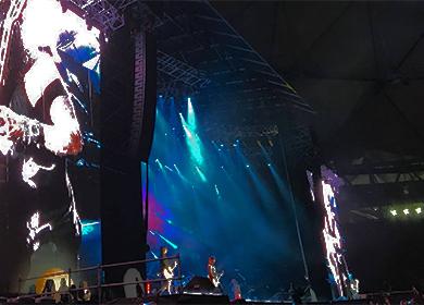 db audio con The Who y GNR en Argentina.