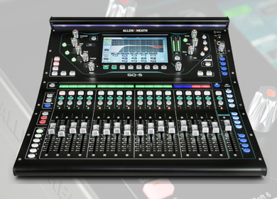 Allen & Heath consolasSeries SQ