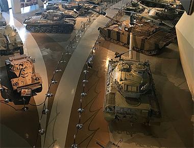 Luces Robe en el Royal Tank Museum parfect