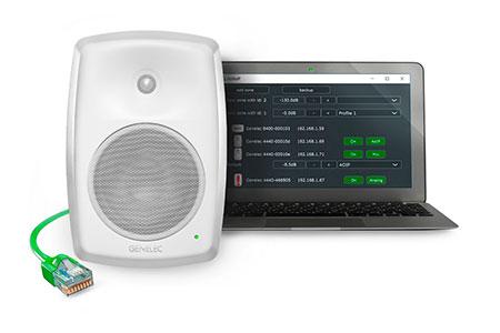 smart ip genelec audio ethernet