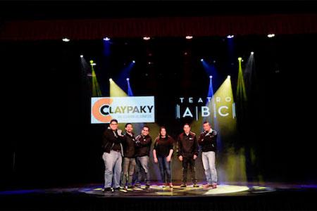 teatro colombia claypaky
