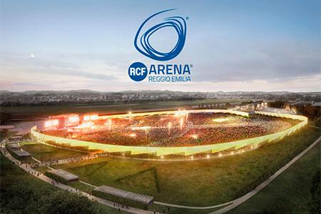 RCF Arena Reggio Emilia venue