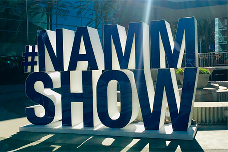 Adam Hall Group Winter NAMM 2020