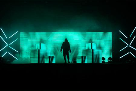 Hippotizer Cyber-Gen ShockWave Tour