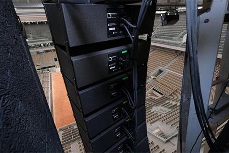 L-Acoustics en Roland-Garros kara ks21